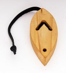BW VB-3 Футляр для варгана, деревянный, лодочка