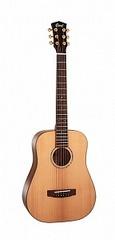 Cort Gold-Mini-NAT Gold Series Акустическая гитара 3/4