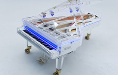 Galaxy Diamond Acrylic Concert Grand Piano Рояль