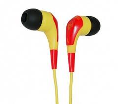 Fischer Audio JB-Three-YR JB Series Наушники внутриканальные, желтo-красные