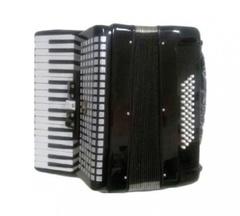 Aurus JH2005-B 34/48/5 аккордеон, черный, с футляром