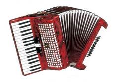 Aurus JH2005-R 34/48/5 аккордеон, красный, с футляром