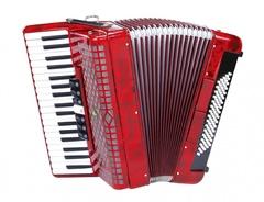 Aurus JH2006-R 37/80/7/2 аккордеон, красный, с футляром