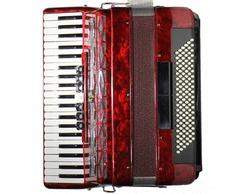Aurus JH2008-R 41/120/7/2 аккордеон, красный, с футляром