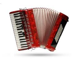 Aurus JH2011-R 34/60/5 аккордеон, красный, с футляром