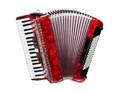 Aurus JH2017-R 37/96/7/2 аккордеон, красный, с футляром