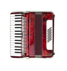 Aurus JH2018-R 32/32 аккордеон, красный, с футляром