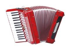 Aurus JHH2019-R 32/24 аккордеон, красный, с футляром
