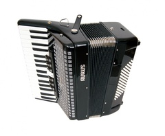Aurus JHH2021-B 34/72/7/2 аккордеон, черный, с футляром