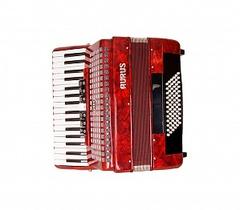 Aurus JHH2021-R 34/72/7/2 аккордеон, красный, с футляром
