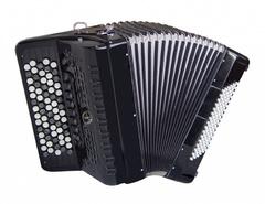 Aurus JH5096-B 70/96/7/2 аккордеон кнопочный, черный, с футляром