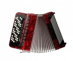 Aurus JH5096-R 70/96/7/2 аккордеон кнопочный, красный, с футляром