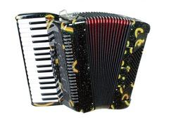 Aurus JH8002-A 34/72/5/2 аккордеон, черный, с футляром