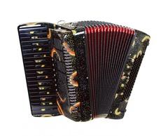 Aurus JH8003-A 37/96/7/2 аккордеон, черный, с футляром
