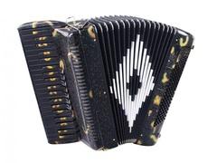 Aurus JH8004-A 41/120/7/2 аккордеон, черный, с футляром