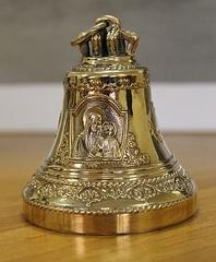 Колокол Казанская Божья Матерь и Спаситель КМ350-001