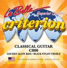 La Bella C800 Criterion Комплект струн для классической гитары