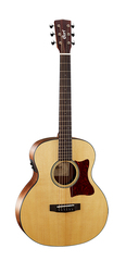 Cort Little-CJ-Walnut-OP CJ Series Электро-акустическая гитара 3/4, цвет натуральный