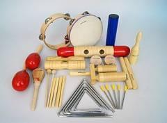 BW Set-1 Набор перкуссии 17 предметов
