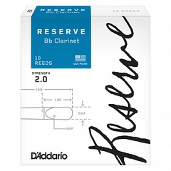 Rico DCR1020 Reserve Трости для кларнета Bb