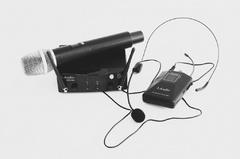 LAudio PRO2-MH Двухканальная радиосистема с ручным передатчиком и головным микрофоном