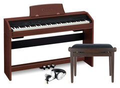 Casio PX-770BN UNIVERSAL SET Цифровое пианино + Банкетка + Наушники
