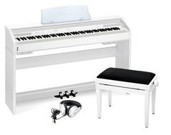 Casio PX-770WE UNIVERSAL SET Цифровое пианино + Банкетка + Наушники