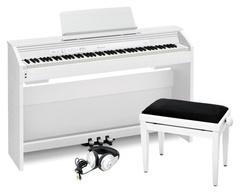 Casio PX-870WE CLASSIC SET Цифровое пианино + Банкетка + Наушники
