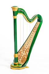 Resonance Harps MLH0025 Iris Арфа 21 струнная (A4-G1), цвет зеленый глянцевый