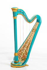 Resonance Harps MLH0026 Iris Арфа 21 струнная (A4-G1), цвет бирюзовый глянцевый