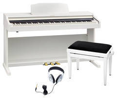 Roland RP-501R-WH STANDART SET Цифровое пианино + Банкетка + Наушники