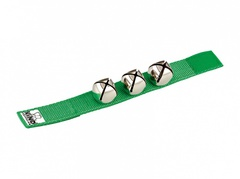 Nino Percussion NINO961GR Колокольчики на запястье, зеленый