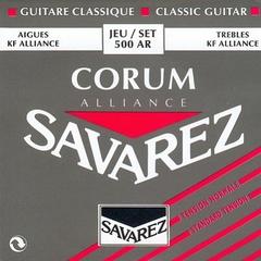 Savarez 500AR Alliance Corum Комплект струн для классической гитары, норм.натяжение, посеребренные