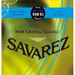 Savarez 540CJ New Cristal Classic Комплект струн для классической гитары, сильное натяжение, посеребренные