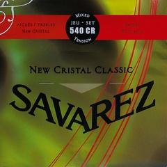Savarez 540CR New Cristal Classic Комплект струн для классической гитары, норм.натяжение, посеребренные