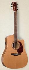 Simon&Patrick CWGT Cedar QIT Электроакустическая гитара, с чехлом