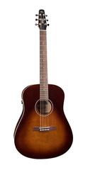 Seagull S6 Original Burnt Umber QIT Электро-акустическая гитара