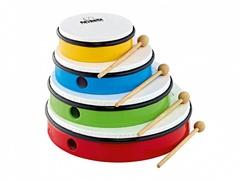 Nino Percussion NINOSET6 Набор бубнов, синтетический пластик