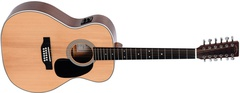 Sigma JM12-1STE+ Электроакустическая 12-струнная гитара