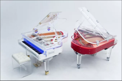 Galaxy Pearl Acrylic Grand Piano Рояль