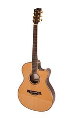 Caraya SP50-C Акустическая гитара, с вырезом, цвет натуральный