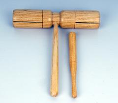Fleet FLT-G4A Тон-блок деревянный на ручке двойной