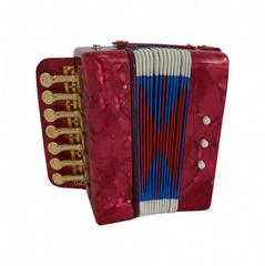 Aurus UC102-R аккордеон кнопочный сувенирный, красный, с футляром