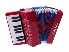 Aurus UC104-R аккордеон сувенирный, красный, с футляром