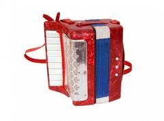 Aurus UC107-R aккордеон сувенирный, красный, с футляром