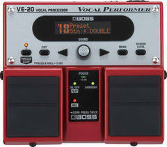 Boss VE-20 Вокальный процессор