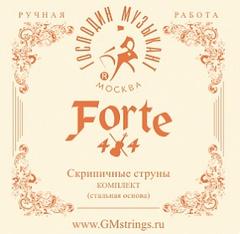 Господин Музыкант  VN327 FORTE4/4 Комплект струн для скрипки