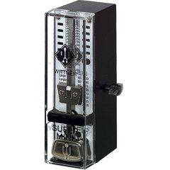 Wittner TAKTELL SUPER-MINI Метроном механический, пластмассовый корпус, черный