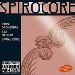 Thomastik S42 Spirocore Комплект струн для контрабаса размером 4/4, оркестровые