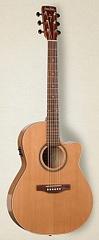 Simon&Patrick CWGT Folk Cedar QIT Электроакустическая гитара, с чехлом
